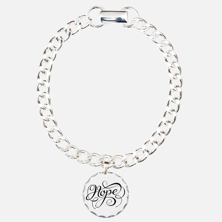 Hope (looping) Bracelet Bracelet