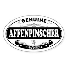 AFFENPINSCHER Oval Decal
