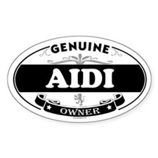AIDI Oval Decal