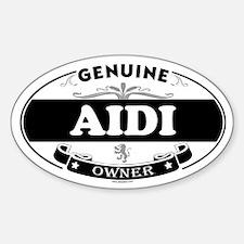 AIDI Oval Decal