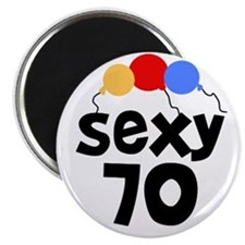 Sexy 70 Magnet
