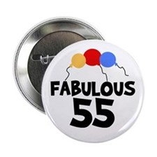 Fabulous 55 Button