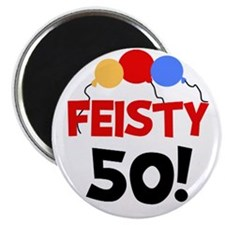 Feisty 50 Magnet