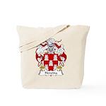 Heredia Family Crest Tote Bag