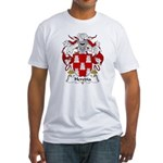 Heredia Family Crest Fitted T-Shirt
