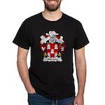 Heredia Family Crest Dark T-Shirt
