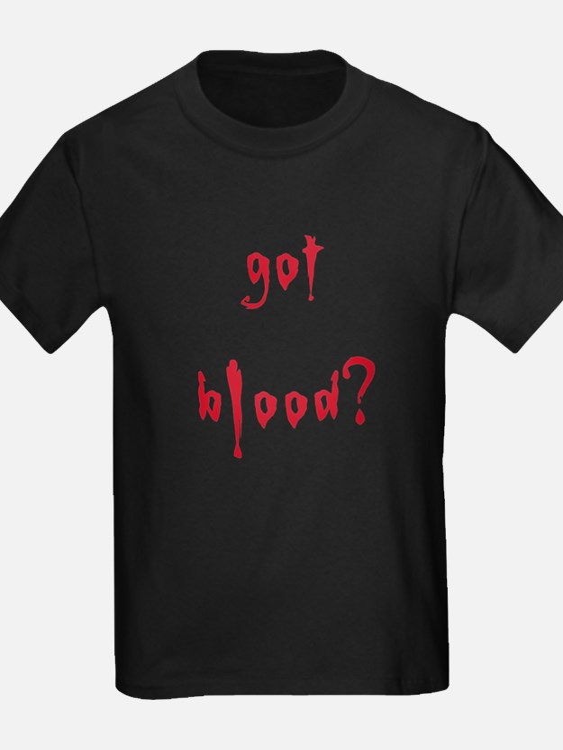 got blood? T