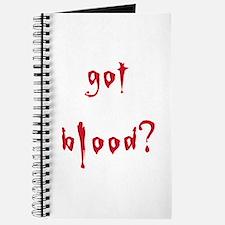 got blood? Journal