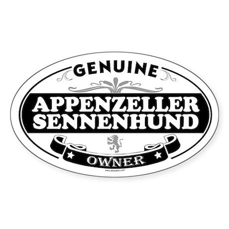 APPENZELLER SENNENHUND Oval Sticker