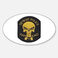 Detroit PD Gang Squad Decal