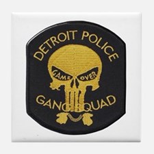 Detroit PD Gang Squad Tile Coaster