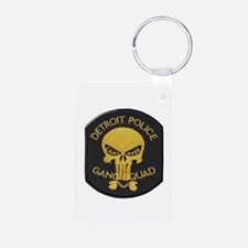 Detroit PD Gang Squad Keychains