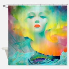 Aurora Borealis Mirage Shower Curtain