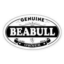 BEABULL Oval Decal
