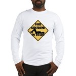 Your Girlfriend on Board Long Sleeve T-Shirt