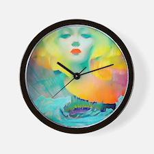 Aurora Borealis Mirage Wall Clock