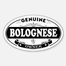 BOLOGNESE Oval Decal