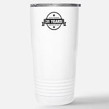 Happily Married 31 Years Travel Mug