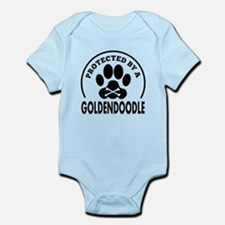 Protected By A Goldendoodle Body Suit