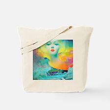 Aurora Borealis Mirage Tote Bag