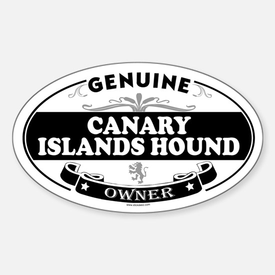 CANARY ISLANDS HOUND Oval Decal