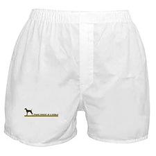 Vizsla (proud parent) Boxer Shorts