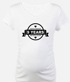 Happily Married 9 Years Shirt