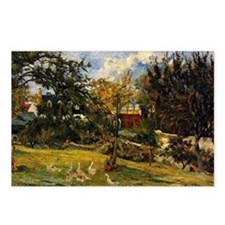Gauguin - Geese in the Me Postcards (Package of 8)