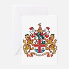 Melbourne Coat of Arms Greeting Cards