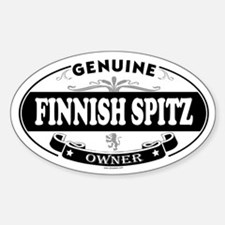 FINNISH SPITZ Oval Decal
