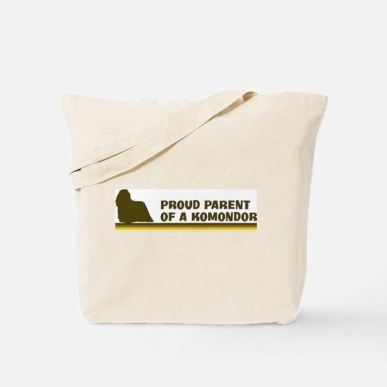 Komondor (proud parent) Tote Bag
