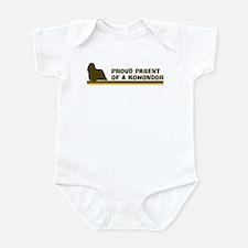 Komondor (proud parent) Infant Bodysuit
