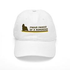 Komondor (proud parent) Baseball Cap