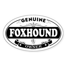 FOXHOUND Oval Decal