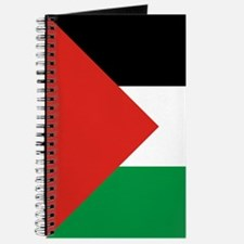 Square Palestinian Flag Journal