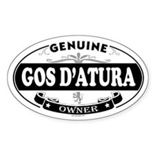 GOS DATURA Oval Decal
