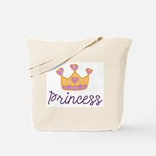 Princess Tiara Crown Tote Bag