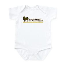 Keeshound (proud parent) Infant Bodysuit