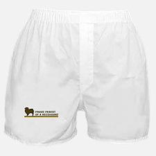 Keeshound (proud parent) Boxer Shorts