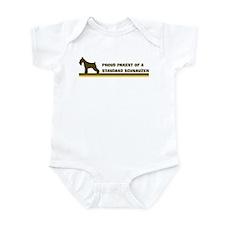 Standard Schnauzer (proud par Infant Bodysuit