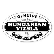 HUNGARIAN VIZSLA Oval Decal