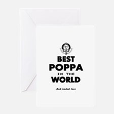 The Best in the World – Poppa Greeting Cards