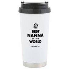The Best in the World – Travel Coffee Mug