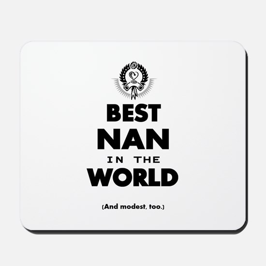The Best in the World – Nan Mousepad