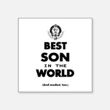 The Best in the World – Son Sticker