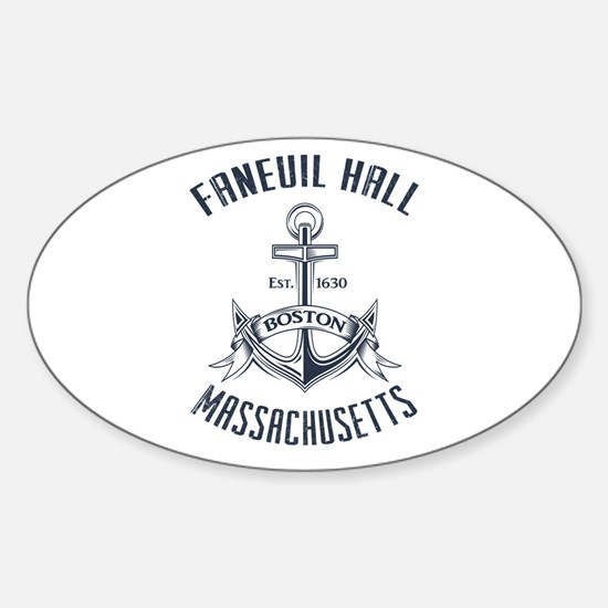 Faneuil Hall, Boston, MA Sticker (Oval)