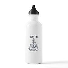 West End, Boston MA Water Bottle