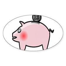 Piggy Bank Decal