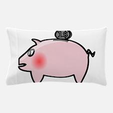 Piggy Bank Pillow Case