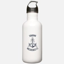 Southie, Boston MA Water Bottle